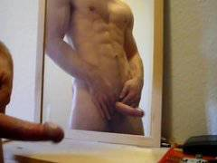 squirting on mirror