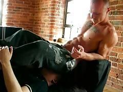 Str8 sniffing fag suck up butt gas IV