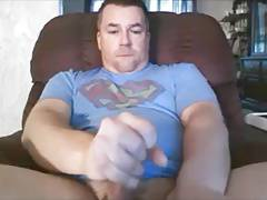 Superman cums!!