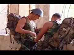 Military Hunk Hardcore Bareback Fuck