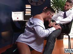 Diego pounds Seths beautiful ass with his meaty cock