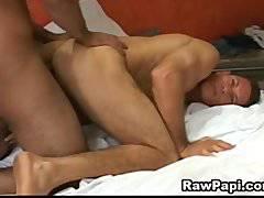 Horny Gay Latino With Extreme Bareback Sex