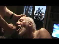 old grandpapa sucking