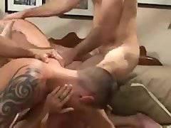 Raw Gangbang Double Fuck Ass