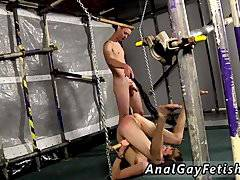 Bald headed gay anal sex Sinking his shaft
