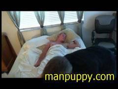 TBT - Manpuppy's 1st Amateur Gaysex Porn