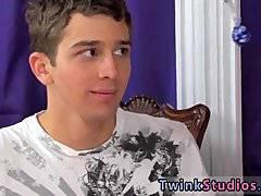 Gay emo movieture teen Levon is listening