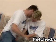 Gay Men Barebacking and Felching