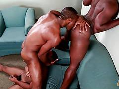 Next Door Ebony Chocolate Threesome Truth or Dare