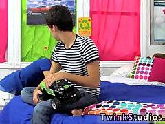 Free gay teens movie Brendan and Lucas are