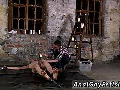 Video hard gay pissing male Chained to the
