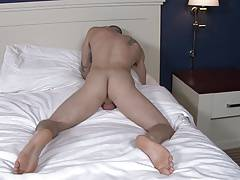 Active Duty Gorgeous Quentin Masturbating