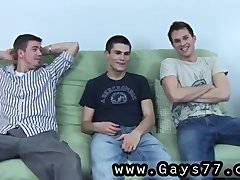 Teens gays anal extreme On the futon today,
