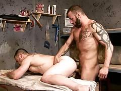 Hard Labour - Giant Dick Workmen