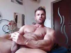 Str8 fit guy on bed
