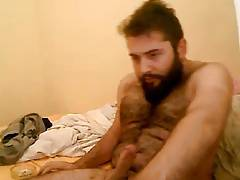 Masturbating Turkey-Turkish Hairy Cub Serdar