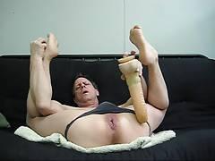 Monster Dildo Slut Buttboy Michel