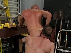 MenOver30 BULKY MEN ASS FUCKING!