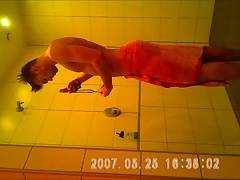 gym showers caught 16 gorgeous