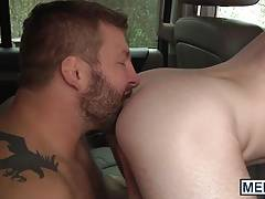 Colby Jansen likes to relieve his stress with hot stud Jack