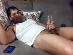 Big cock with fleshlight