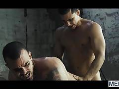 Topher Di Maggio drills Damiens Crosse hole with his cock