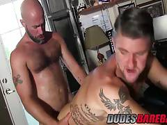 Damon Andros and Christian Matthews enjoying hard fuck