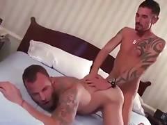 Bottom loves dick in ass
