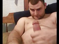 Handsome cub with nice fat cock