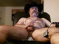 Hot redneck stroking