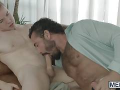 Gabriel Cross goes for a ride on Jessys raging hard dick