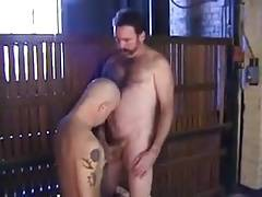 Horny Daddies Sucking and Fucking