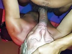 Silverdaddy wanted to gag on my cock.