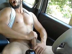 sexy wanker cums 4
