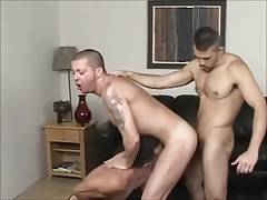 Manly 3some Bareback