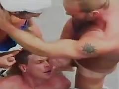 Hot Hunks Fucking at Poolside