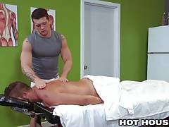 Hot House Hunky Masseur Gives Full Service
