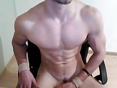 Gorgeous straight Italian boy cums