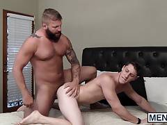 Paul Canon gets fucked by the manly hunk Colby Jansen