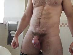 Hot Hairy Guy Pissing