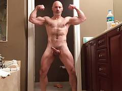 AbJock Handsfree Muscle Flexing & Cumming