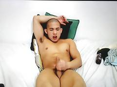 Asian muscles chaturbate cum