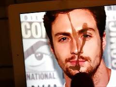 Aaron Taylor Johnson Cum Tribute #2