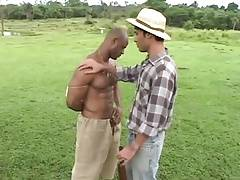 Interracial Outdoor