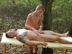 Outdoor Gay Porn Sex Massage