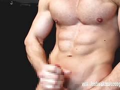 Bodybuilder Wrestling Piledriver CUM