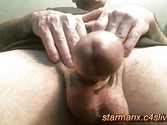 Starman x - Stroking Big Cock