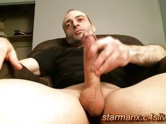 Starman X - Hot dude jacks big cock 03