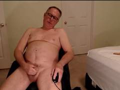 handsome grandpa wanking