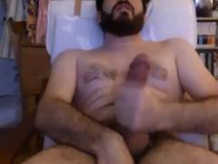 Hot turkish dude with very long dick wanking